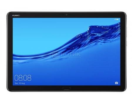 "Фотография товара планшет Huawei MediaPad M5 Lite 10 32Gb Space Gray (Android 8.0 (Oreo)/Kirin 659 2360MHz/10.10"" 1920x1200/3072Mb/32Gb/ ) [53010DKA] (62366)"