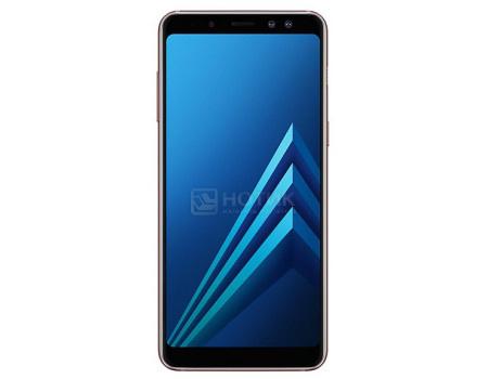 """Фотография товара смартфон Samsung Galaxy A8 2018 SM-A530F Blue (Android 7.1 (Nougat)/Exynos 7885 2200MHz/5.60"""" 2220x1080/4096Mb/32Gb/4G LTE ) [SM-A530FZBDSER] (62392)"""