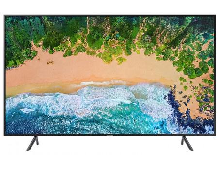 Фотография товара телевизор Samsung 55 UHD, Smart TV , Звук (20 Вт (2x10 Вт)), 3xHDMI, 2xUSB, PQI 1300, Черный UE55NU7100UXRU (62443)