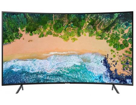 Фотография товара телевизор Samsung 55 UHD, Curved, Smart TV , Звук (20 Вт (2x10 Вт)), 3xHDMI, 2xUSB, PQI 1400, Черный UE55NU7300UXRU (62444)