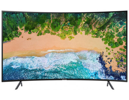 Телевизор Samsung 65 UHD, Curved, Smart TV , Звук (20 Вт (2x10 Вт)), 3xHDMI, 2xUSB, PQI 1400, Черный UE65NU7300UXRU