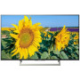 Телевизор SONY 49 LED, UHD, Smart TV (Android), Звук (20 Вт (2x10 Вт)) , 4xHDMI, 3xUSB, 1xRJ-45, CMR 400 Черный KD-49XF8096