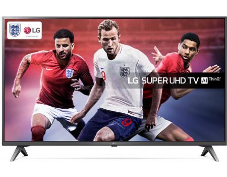 Фотография товара телевизор LG 49 LED, UHD, IPS, Smart TV (webOS) Звук (20 Вт (2x10 Вт)), 4xHDMI, 2xUSB, 1xRJ-45, Серый, 49SK8000PLB (62461)