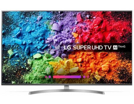 Фотография товара телевизор LG 55 LED, UHD, IPS, Smart TV (webOS) Звук (20 Вт (2x10 Вт)), 4xHDMI, 3xUSB, 1xRJ-45, Серый, 55SK8100PLA (62463)