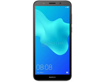 "Фотография товара смартфон Huawei Y5 Prime 2018 Black (Android 8.1 (Oreo)/MT6739 1500MHz/5.5"" 1440x720/2048Mb/16Gb/4G LTE ) [6901443236701] (62488)"