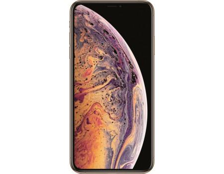 """Фотография товара смартфон Apple iPhone XS 64Gb Gold (iOS 12/A12 Bionic 2490MHz/5.8"""" 2436x1125/4096Mb/64Gb/4G LTE ) [MT9G2RU/A] (62532)"""