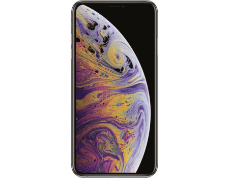 "Фотография товара смартфон Apple iPhone XS Max 256Gb Silver (iOS 12/A12 Bionic 2490MHz/6.5"" 2688x1242/4096Mb/256Gb/4G LTE ) [MT542RU/A] (62543)"