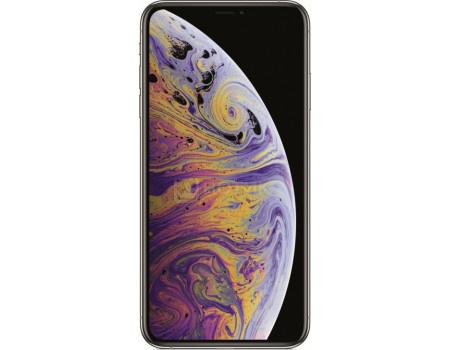"Фотография товара смартфон Apple iPhone XS Max 512Gb Silver (iOS 12/A12 Bionic 2490MHz/6.50"" 2688x1242/4096Mb/512Gb/4G LTE ) [MT572RU/A] (62546)"