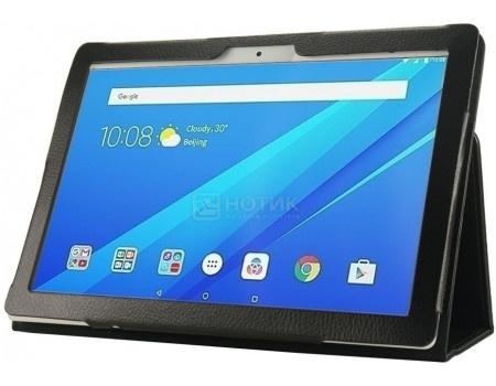 Фотография товара чехол-подставка IT Baggage для планшета Lenovo Tab 4 Plus 10.1 TB-X704L, Искусственная кожа, Черный ITLNT4107-1 (62549)