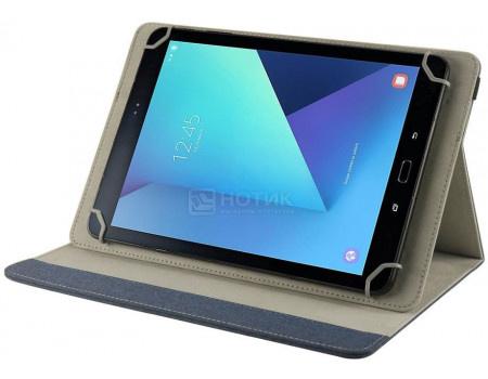 """Фотография товара чехол-подставка IT Baggage для планшета универсальный 10"""", Искусственная кожа, Синий ITUNI109-4 (62550)"""