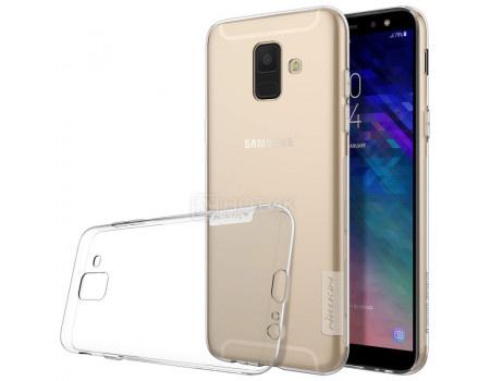 Купить чехол-накладка Nillkin Nature TPU case для Samsung Galaxy A6 2018, Силикон, Белый, T-N-SGA62018-018 (62578) в Москве, в Спб и в России