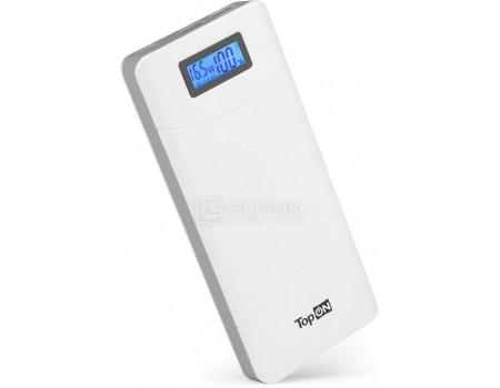 Фотография товара универсальный внешний аккумулятор TopON TOP-T80/W для смартфонов, планшетов, цифровой техники, ноутбуков на 18000mAh (66,6 Wh) Белый (62740)