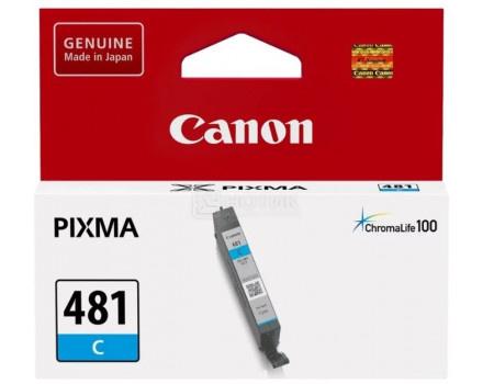 Фотография товара картридж струйный Canon CLI-481 C 2098C001 голубой для Canon Pixma TS6140/ TS8140TS/ TS9140/ TR7540/ TR8540 (62789)