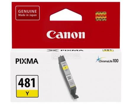 Фотография товара картридж струйный Canon CLI-481 Y 2100C001 желтый для Canon Pixma TS5140/ 6140/ 8140/ 8540 (62791)