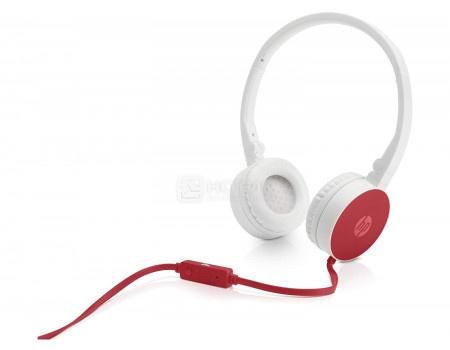 Гарнитура проводная HP Stereo Headset H2800 Cardinal Red, Красный/Белый W1Y21AA