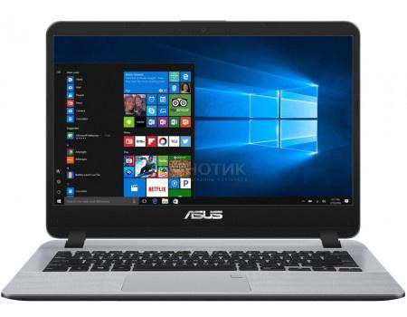 Фотография товара ноутбук ASUS X407UA-EB205T (14.00 TN (LED)/ Core i3 7100U 2300MHz/ 8192Mb/ SSD / Intel HD Graphics 620 64Mb) MS Windows 10 Home (64-bit) [90NB0HP1-M04400] (62825)
