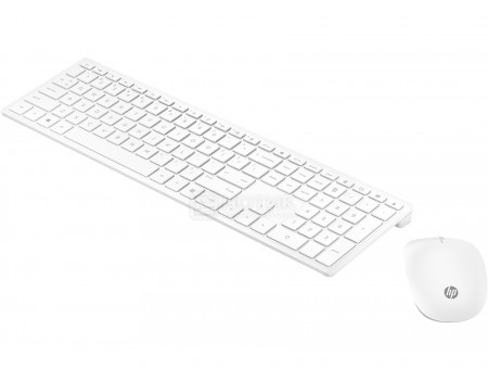 Комплект беспроводной клавиатура+мышь HP Pavilion Wireless Keyboard and Mouse 800, Белый 4CF00AA