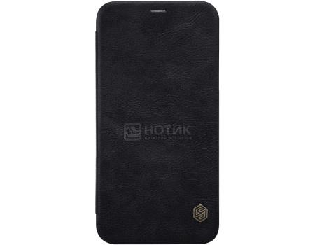 Фотография товара чехол-книжка Nillkin Qin leather case для iPhone X/XS, T-N-AIX-025, Искусственная кожа, Черный 6902048146587 (62856)