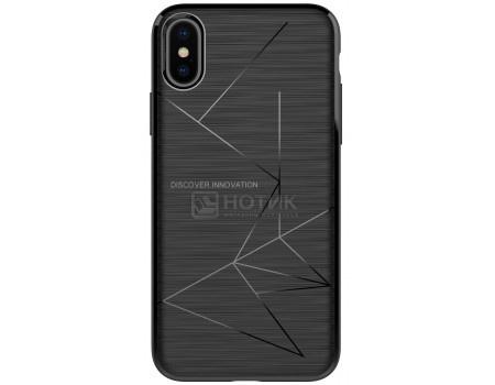 Фотография товара чехол-накладка Nillkin Magic case для iPhone X/XS, T-N-AI-028, Пластик, Черный 6902048146426 (62857)