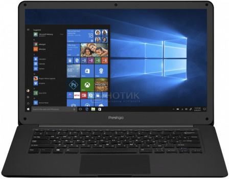 Фотография товара ноутбук Prestigio SmartBook 141 C2 (14.10 IPS (LED)/ Celeron Dual Core N3350 1100MHz/ 3072Mb/ SSD / Intel HD Graphics 500 64Mb) MS Windows 10 Professional (64-bit) [PSB141C02ZFP_BK_CIS] (62884)