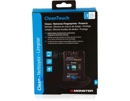 Фотография товара чистящий набор Monster CleanTouch for Touchscreen Tablets, eBooks and Smartphones 20мл, Черный 133212-00 (62925)