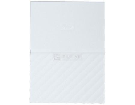 """Фотография товара внешний жесткий диск Western Digital 2Tb WDBLHR0020BWT-EEUE My Passport 2.5"""" USB 3.0, Белый (62941)"""