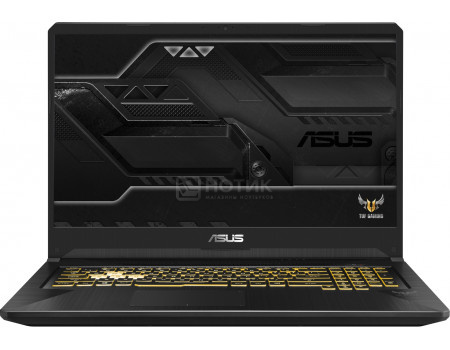 Фотография товара ноутбук ASUS TUF Gaming FX705GM-EV020T (17.30 IPS (LED)/ Core i7 8750H 2200MHz/ 16384Mb/ HDD+SSD 1000Gb/ NVIDIA GeForce® GTX 1060 6144Mb) MS Windows 10 Home (64-bit) [90NR0121-M00260] (62962)