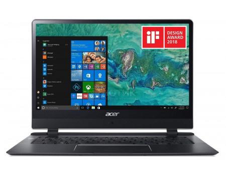 Фотография товара ноутбук Acer Swift 7 SF714-51T-M3AH (14.00 IPS (LED)/ Core i7 7Y75 1300MHz/ 8192Mb/ SSD / Intel HD Graphics 615 64Mb) MS Windows 10 Professional (64-bit) [NX.GUHER.002] (63019)