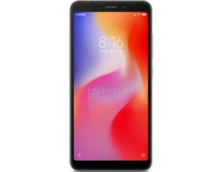 "Фотография товара смартфон Xiaomi Redmi 6A 32Gb Black (Android 8.1 (Oreo)/MT6762M 2000MHz/5.45"" 1440x720/2048Mb/32Gb/4G LTE ) [X19841] (63045)"