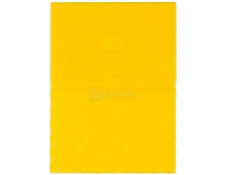 """Фотография товара внешний жесткий диск Western Digital 2Tb WDBLHR0020BYL-EEUE My Passport 2.5"""" USB 3.0, Желтый (63182)"""