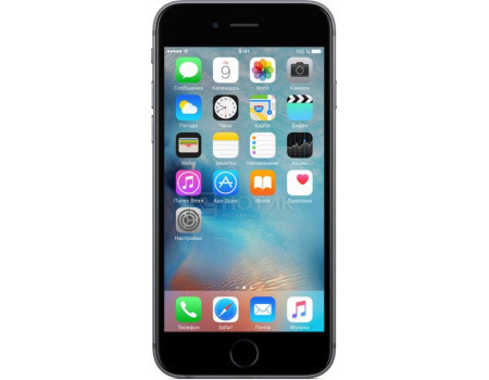 "Фотография товара смартфон Apple iPhone 6s 32Gb Space Gray (как новый) (iOS/A9 1840MHz/4.70"" 1334x750/2048Mb/32Gb/4G LTE ) [FN0W2RU/A] (63192)"