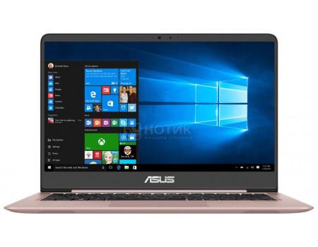 Фотография товара ультрабук ASUS Zenbook UX410UF-GV012T (14.00 IPS (LED)/ Core i7 8550U 1800MHz/ 16384Mb/ HDD+SSD 1000Gb/ NVIDIA GeForce® MX130 2048Mb) MS Windows 10 Home (64-bit) [90NB0HZ4-M03860] (63201)