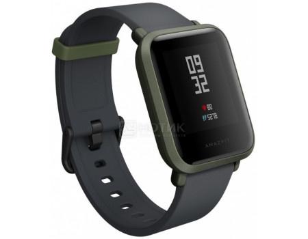 Фотография товара смарт-часы Xiaomi Amazfit BIP, BT, 190 мАч, IP68, Зеленый 6970100370782 (63230)