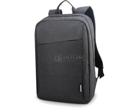"Фотография товара рюкзак 15.6"" Lenovo Casual Backpack B210, Полиэстер, Серый GX40Q17225 (63238)"