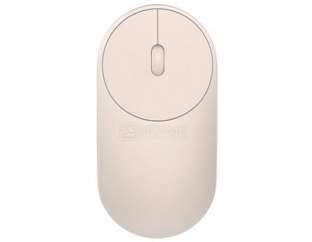 Мышь беспроводная Xiaomi Mi Portable Mouse Gold Bluetooth/USB Wireless 1200dpi Золотистый HLK4008GL.