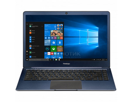Ноутбук Prestigio SmartBook 141S (14.10 IPS (LED)/ Celeron Dual Core N3350 1100MHz/ 3072Mb/ SSD / Intel HD Graphics 500 64Mb) MS Windows 10 Home (64-bit) [PSB141S01ZFH_BB_CIS]