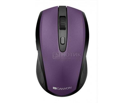 Мышь беспроводная Canyon CNS-CMSW08V, Bluetooth/USB Wireless, 800dpi/ 1200dpi/ 1600dpi, Фиолетовый CNS-CMSW08V фото