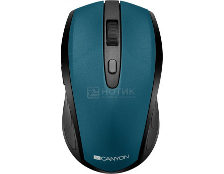 Мышь беспроводная Canyon CNS-CMSW08G, Bluetooth ,800dpi/ 1000dpi/ 1600dpi, Зеленый CNS-CMSW08G фото