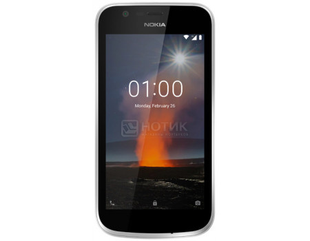 Смартфон Nokia 1 DS 8Gb Dark Blue (Android 8.0 (Oreo)/MT6737M 1100MHz/4.50