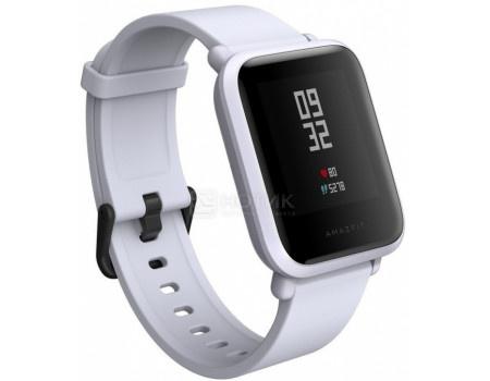 Фотография товара смарт-часы Xiaomi Amazfit BIP, BT, 190 мАч, IP68, Белый 6970100370775 (63543)