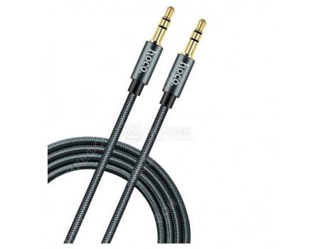 Фотография товара кабель AUX HOCO UPA03 Tarnish, Mini jack/Mini jack(3.5мм), 1м, Серый UPA03 Tarnish (63573)