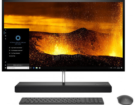 Моноблок HP Envy 27-b200ur (27.00 IPS (LED)/ Core i5 8400T 1700MHz/ 8192Mb/ HDD+SSD 1000Gb/ NVIDIA GeForce® GTX 1050 4096Mb) MS Windows 10 Home (64-bit) [4JQ63EA]