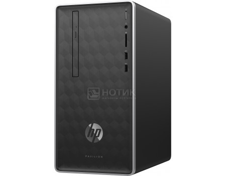 Фотография товара системный блок HP Pavilion 590-a0008ur (0.00 / A6-Series A6-9225 2600MHz/ 4096Mb/ HDD 500Gb/ AMD Radeon R4 series 64Mb) Free DOS [4JZ92EA] (63591)