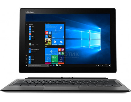 "Фотография товара планшет Lenovo Miix 520-12 (MS Windows 10 Home (64-bit)/i3-7130U 2700MHz/12.20"" 1920x1200/4096Mb/128Gb/ ) [81CG01QRRU] (63643)"