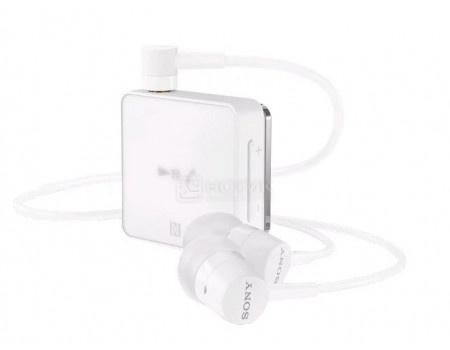 Фотография товара гарнитура беспроводная Sony SBH24 White, Bluetooth, NFC, Белый 1311-2499 (63650)