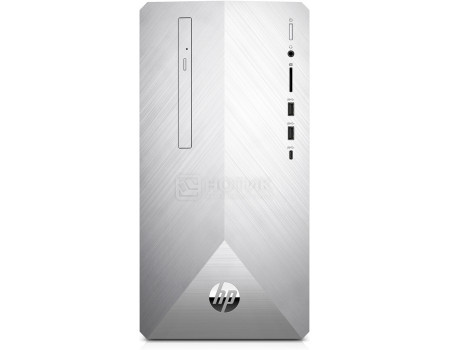 Фотография товара системный блок HP Pavilion 595-p0001ur (0.00 / Ryzen 5 2600 3400MHz/ 12288Mb/ HDD+SSD 1000Gb/ AMD Radeon RX 580 8192Mb) MS Windows 10 Home (64-bit) [4DV80EA] (63660)