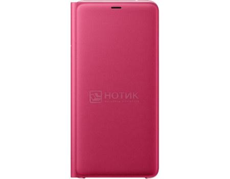 Фотография товара чехол-книжка Samsung Wallet Cover для Samsung Galaxy A9, Поликарбонат, Pink, Розовый, EF-WA920PPEGRU (63804)