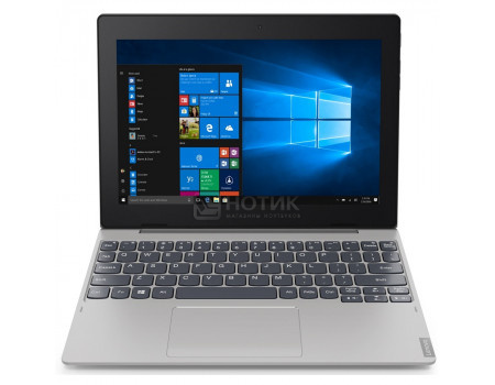 "Фотография товара планшет Lenovo IdeaPad D330-10 (MS Windows 10 Home (64-bit)/N4000 1100MHz/10.10"" 1280x800/2048Mb/32Gb/4G LTE ) [81H3003ARU] (63805)"