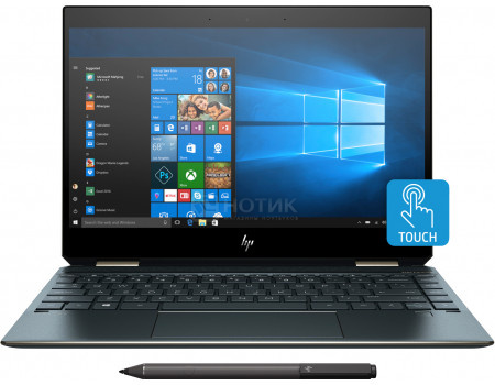 Ноутбук HP Spectre x360 13-ap0005ur (13.30 IPS (LED)/ Core i7 8565U 1800MHz/ 8192Mb/ SSD / Intel UHD Graphics 620 64Mb) MS Windows 10 Home (64-bit) [5MN82EA]