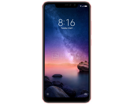 Xiaomi Redmi 6 Note Pro 64Gb Rose Gold